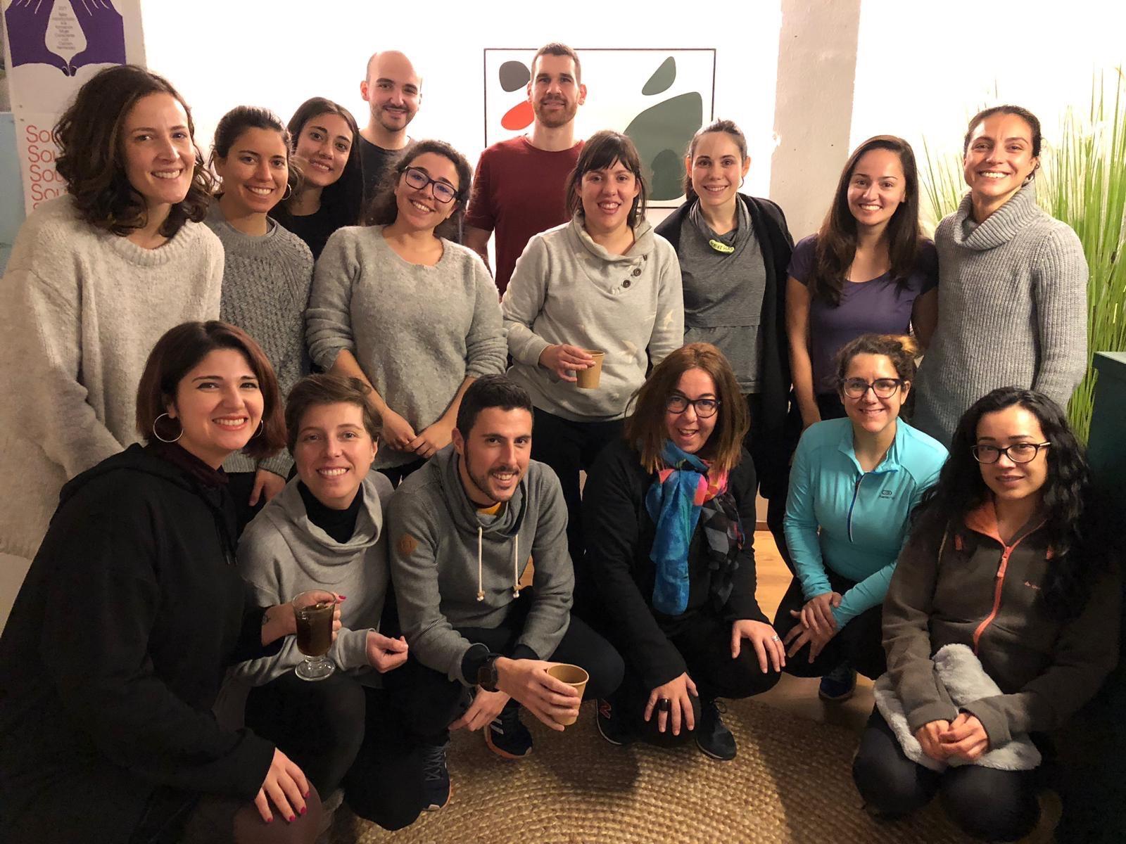 Primer Evento de Yoga Solidario en Barcelona Sahayak Yoga